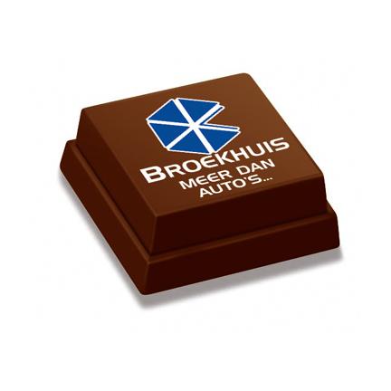 Logobonbon per stuk verpakt of in bulkverpakking als smaakvolle attentie