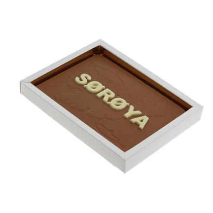Chocoladetablet met bedrijfslogo als relatiegeschenk