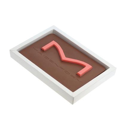 Chocoladetablet met persoonlijk bedrijfsontwerp als origineel relatiegeschenk