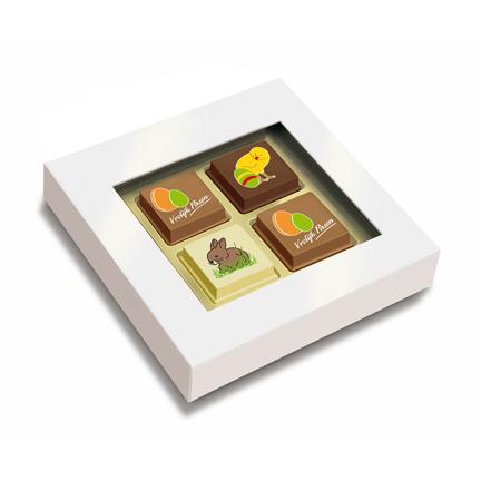 Paasbonbons als cadeautje voor klanten met Pasen