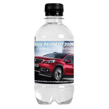 Gepersonaliseerd waterflesje snel leverbaar