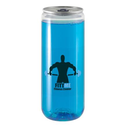 Blikje energy drink met logo voor uw sportieve klanten
