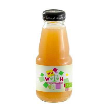 Bedrukt sapflesje als gezonde dorstlesser voor klanten