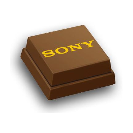 Logobonbon bedrukt met logo Sony