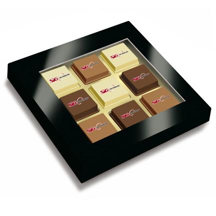 Doosje bonbons met uw logo als relatiegeschenk