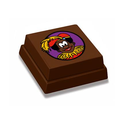 Bonbon met standaard Zwarte Piet bedrukking