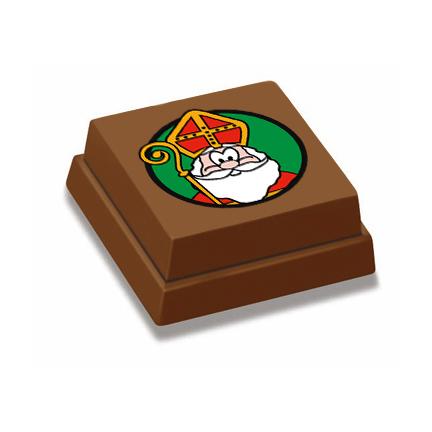 Bonbon met standaard Sinterklaas bedrukking combineren met Logobonbons