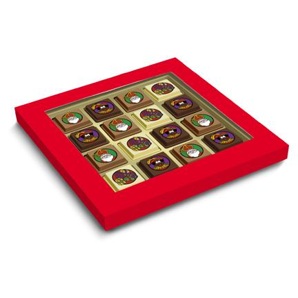 Sintbonbons met of zonder logo als cadeautje voor Sinterklaas