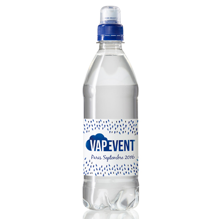 Waterfles sportdop met logo 500ml