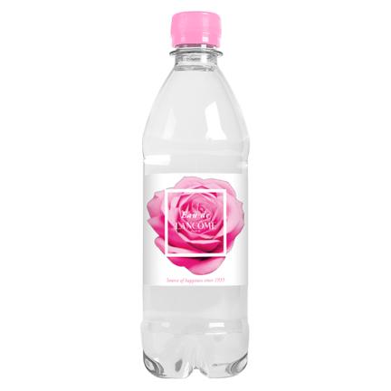 Waterfles met logo op eigen label