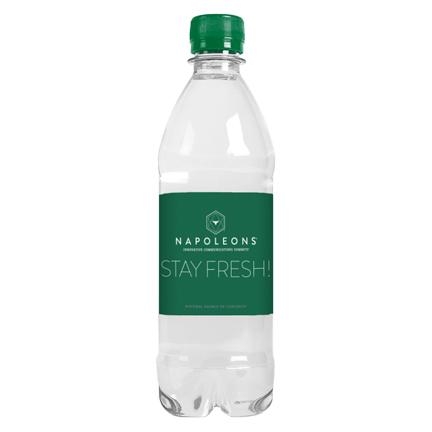 Gepersonaliseerd Waterflesje met eigen label