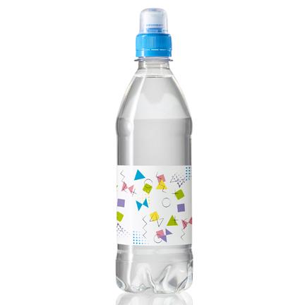 Waterflesje met logo als dorstlessend promotiemiddel