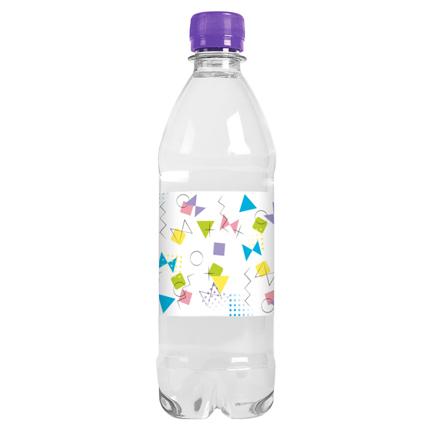 Waterfles met logo op eigen etiket