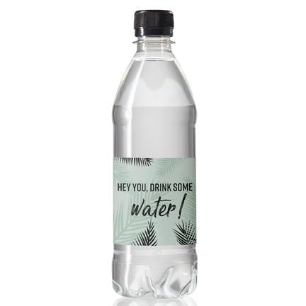 500mol Waterfles met eigen label als dorstlessend promotiemiddel