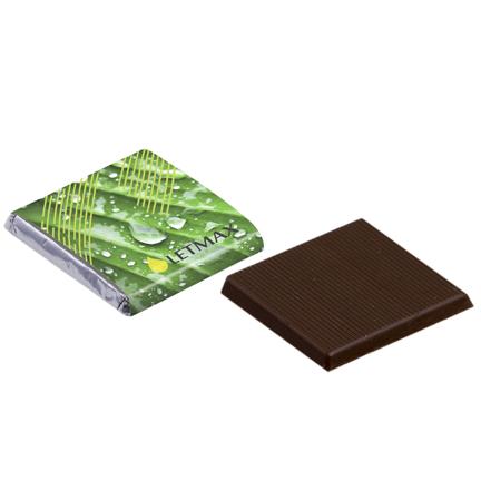 Chocolaatje met eigen wikkel voor bij de koffie