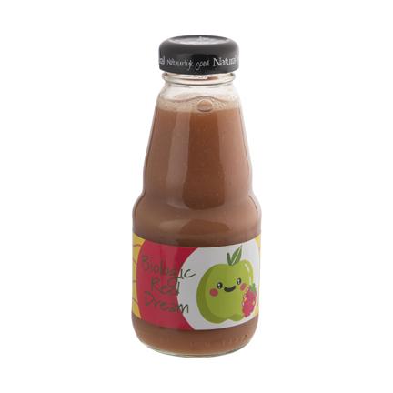 Biologische smoothie met logowikkel