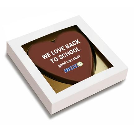 Logo chocolahart per brievenbuspost versturen naar thuiswerkers