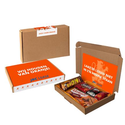 EK doosje met chocolade per brievenbuspost versturen