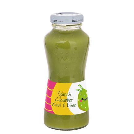 Groene smoothie met logowikkel als promogeschenk