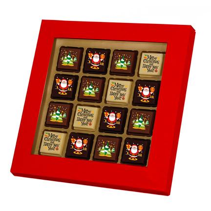 Chocolade Kerstbonbons als Kerstgeschenk