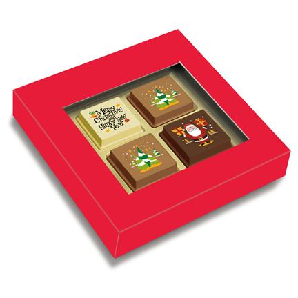 Chocolade Kerstbonbons als relatiegeschenk voor Kerst